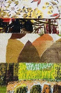 Vintage  Fabrics 1950s Scrap / Bundle Patchwork / Craft/ Quilting / #7