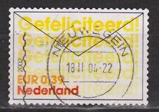 NVPH Netherlands Nederland 2053 10 om te feliciteren 2002 EURO STAMPS PER PIECE