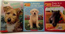 Lot of 3 Paperback Animal Ark Books by Ben M. Baglio Labrador Doggy Pony EUC