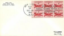 USA 1949 FIRST DAY COVER BOOKLET PANE