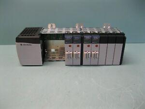 Allen-Bradley ControlLogix Rack 1756-A10, 1756-PA75, etc B17 (2888)