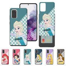Disney Check Princess Card Bumper Cover Galaxy S20 S10 Note20 Ultra Note10 Case