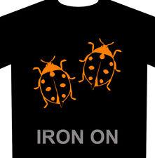 Lady Bugs Iron On 2 Pack Heat Transfer Vinyl