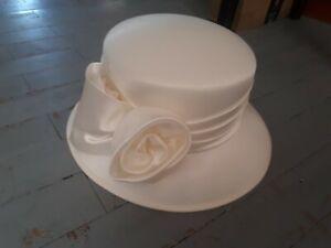 Ladies Hat BHS wedding/races Cream