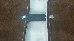 5x heavy grain fat boy chrome press stud vest extendets #85