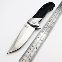 Ball Bearing VOLTRON V05 Tactical Folding Knife 9Cr18Mov Blade Steel G10 Handle