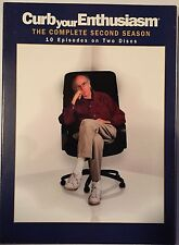 Curb Your Enthusiasm: The Complete Second Season (DVD, 2004, 2-Disc Set)