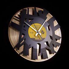 Disc 'o' Clock 'Big Bang' reloj de pared vinilo, disco (dd016gb) Double oro/Black
