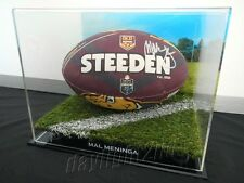 ✺Signed✺ MAL MENINGA Queensland Football PROOF COA Canberra Raiders 2017 Jersey