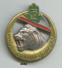 Insigne tirailleurs algériens , Rgt. de Tirailleurs Algériens,  ( peint )