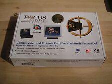 Lapis Color MV16EN 16 bit video / ethernet combo ugrade card Powerbook 5300 Mac