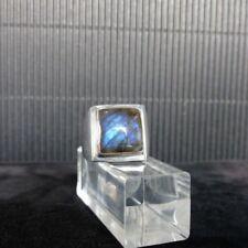 Ring Gr. 59 Silber 925 mit Labradorit
