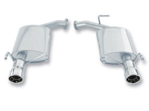 Borla 11758 Axle-Back Exhaust System for 2007-2010 Toyota Camry LE SE XLE 3.5L