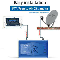 H.264 DVB-S2 Digital Satellite Receiver WIFI Youtue TV Box USB Capture Galaxy 19
