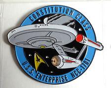 "Star Trek Enterprise 1701 MicroFleet DELUXE 2+"" Cloisonne Pin-FREE S&H (STSH001)"
