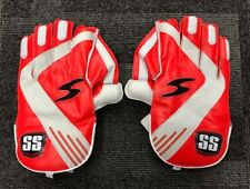 SS TON Professional Quality Wicket Keeping Gloves + Free Coton Inner & Delivery