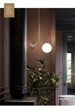 Nordic Novelty Flos Glass Shade Chandelier Gold Finish E14 Light Celing Lamp