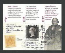Oostenrijk - 175 jr Briefmarke blok 2015 gestempeld