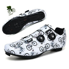 Men Professional Road Bicycle Sneaker SPD Cleats Athletic Bike Cycling Shoes New