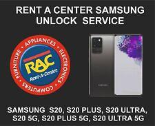 Rent A Center Unlock Service for Samsung S20, S20 Plus, S20 Ultra, 5G