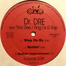 "DR. DRE & KING T Step On By / Nuthin' 12"" Vinyl US 12"" Hip-Hop 2003 Promo"