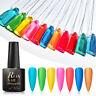 RBAN NAIL 8ML Jelly Glass Nail UV Gel Soak Off Polish Varnish Manicure Tips DIY