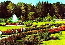 Bad Wörishofen , Kurpark mit Rosarium  , Ansichtskarte, gelaufen