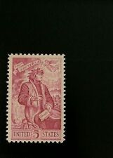 1965 5c Dante Alighieri, Italian Poet, 700th Anniversary Scott 1268 Mint F/VF NH