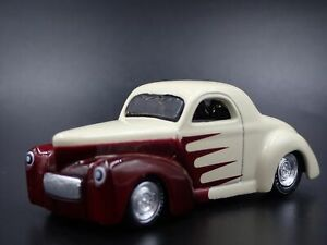 1941 41 WILLYS COUPE NHRA RARE 1:64 SCALE COLLECTIBLE DIORAMA DIECAST MODEL CAR