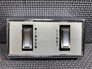 🔥⭐ 1969-1971 Lincoln Mark III Right Rear Quarter Window Switch Door Controls
