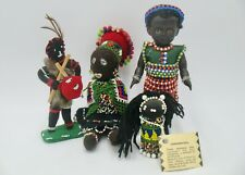 Group of Vintage African Dolls