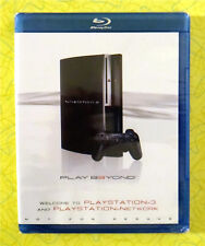 Playstation 3 ~ New Blu-ray ~ Rare Not For Resale Sealed Video PS3 Game Trailers