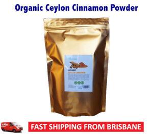 "Organic Ceylon Cinnamon Cinnamomum Verum ""True"" Cinnamon Powder 250g"