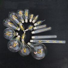 E27 E14 Tornillo es Antiguo Edison Filamento Lámpara de luz LED de Decoración Bombilla 220-240V