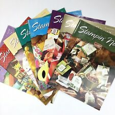 Stamping Magazines Demonstrator Newsletters Stampin News 2001