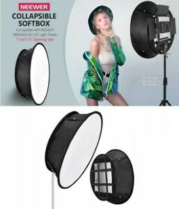 Neewer Collapsible Softbox Diffuser for Neewer 480/530/660 with Acc. From Japan