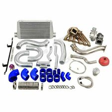 Single Turbo Intercooler Downpipe Kit for 2JZGTE 08-16 Genesis Coupe Swap