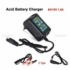6V 12V Lead-acid Battery Charger Maintainer Tender Trickle Car Motorcycle Volt