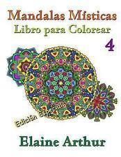 Mandalas Misticas: Mandalas Misticas Libro para Colorear No. 4 Edicion...