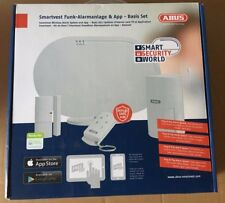 ABUS Smartvest Funk-Alarmanlage & App - Basis Set FUAA35000A Wireless Alarm