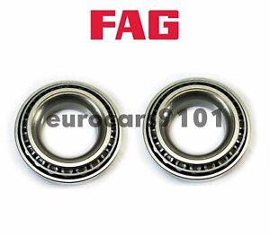 Mercedes 220S FAG (2) Front Inner Outer Rear Right Wheel Bearings SET6 103121