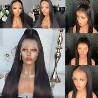 Pre Plucked 8A Malaysian Virgin Human Hair 360 Wig Lace Front Wig Straight Wig C