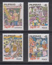 Philippine Stamps 1993 Christmas (Simbang Gabi, Carolers etc) complete set MNH
