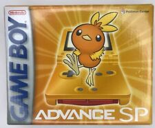 Game Boy Advance SP Torchic Orange Edition Handheld Game Console System Pokemon