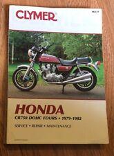 Honda CB750 DOHC Four Repair Manual 1979-1982