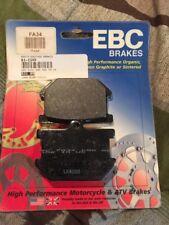 EBC Motorcycle Brake Pads.  NEW!!!!!   FA34