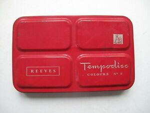 Vintage Reeves Tempodisc No 8 paintbox