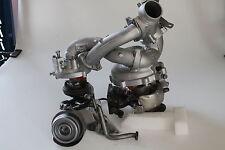 Turbolader BMW 335d E90 E91 E92 210 kw 2 Stück Bi-Turbo #54399880089 53269880004