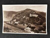Vintage RPPC: Devon: #T74: Tors & Tors Hotel, Lynmouth: Posted