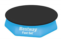 BESTWAY SWIMMING POOL COVER FAST SET OUTDOOR RAIN PADDLING PROTECTIVE ROUND NEW